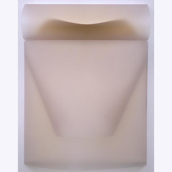 Al limite cm 92 x 70 2004 PVC e acrilico su tavola