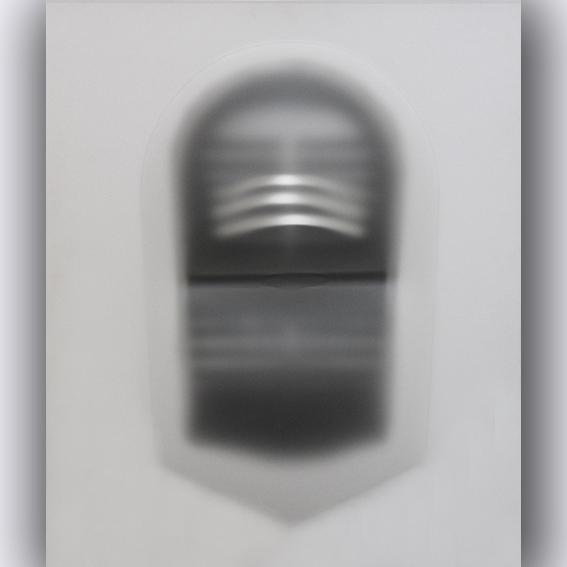 Il tempo di mostrare, 2015 cm 95 X 80 perspex acrilic and pvc