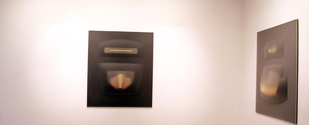 Ossidiana  Galleria D Arte Marchetti Roma 2010 part. della mostra 1a