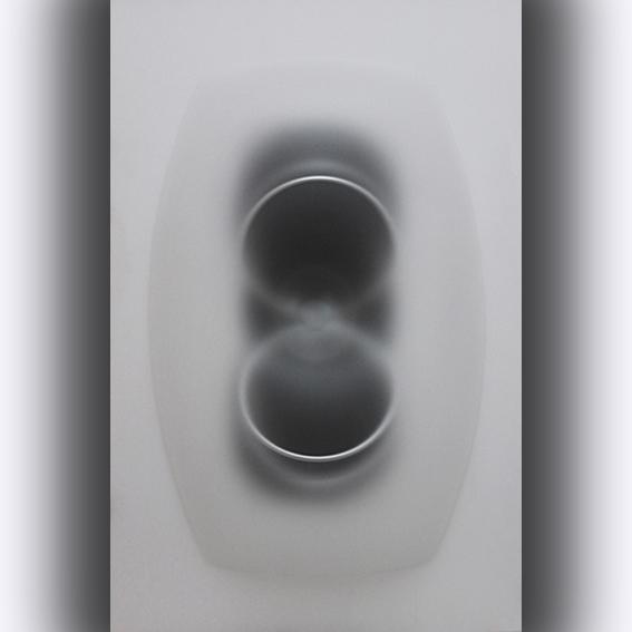 Paolo Radi, Eco, 2014 perspex , pvc, acrylic color cm 145x96