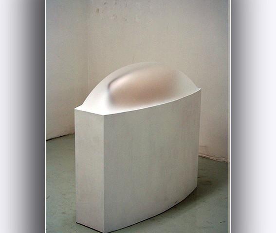 Paolo Radi Sacello dell' origine   cm 100x105x40  2011